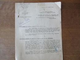 ETAT FRANCAIS LILLE LE 2 AVRIL 1943 LE PREFET DU NORD CIRCULAIRE N°77 RATIONNEMENT DU TEXTILE 3 PAGES - Historische Dokumente