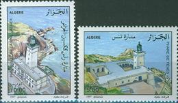 Algeria 1997 Lighthouse,Cap Tenes,Cap Caxine MNH Michel 1195-96 - Fari