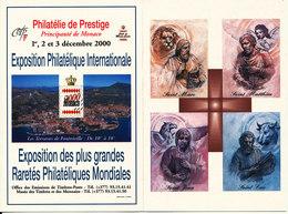 Monaco FDC 24-12-1999 With Cachet - FDC