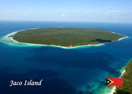 East Timor Jaco Island Aerial View New Postcard Osttimor AK - Timor Oriental