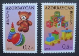 Aserbaidschan    Historisches Spielzeug    Europa Cept   2015  ** - 2015