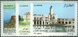 Algeria 2005 Lighthouse, MNH Michel 1470-72 - Fari