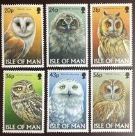 Isle Of Man 1997 Owls Birds MNH - Uilen
