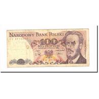 Billet, Pologne, 100 Zlotych, 1988, 1988-12-01, KM:143e, AB - Pologne