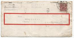 CHINA 20C LETTREC COVER NANKING CHINE TO GERMANY - Chine