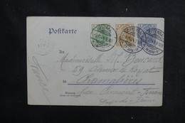 ALLEMAGNE - Entier Postal + Compléments De Offenbach Pour La France En 1904 - L 52405 - Ganzsachen