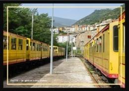 66  OLETTE  ... La  Gare -  Trains  Jaunes - Andere Gemeenten