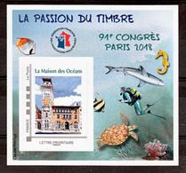France BF 14 FFAP 91 ème Congrès De Paris 2018 Neufs ** LUXE MNH Sin Charnela - FFAP