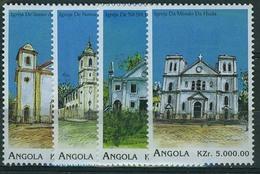 Angola 1996 Lighthouse, MNH Michel 1098-1101 - Phares