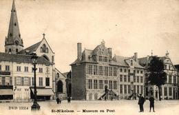 P088 SINT NIKLAAS : Museum En Post, Gelopen Kaart - Sint-Niklaas