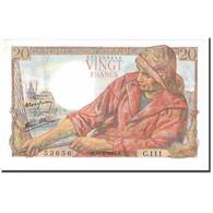 France, 20 Francs, Pêcheur, 1944, 1944-02-10, SPL, Fayette:13.08, KM:100a - 1871-1952 Anciens Francs Circulés Au XXème