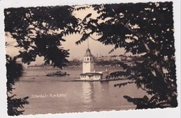 TURKEY  - AK 373044 Istanbul - Leander's Tower - Turkey