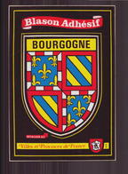 Bourgogne Blason Adhésif - Bourgogne