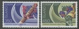 Islande Iceland Ijsland 1982 Yvertn° 531-532 *** MNH Cote 8,00 Euro Europa Cept - 1944-... Republique