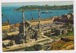 TURKEY  - AK 373049 Istanbul - The Mosque Of Nusretiye, The Harbour And The Point Of Seraglio - Turkey