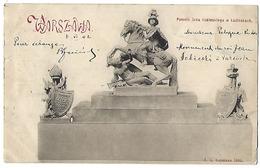 POLOGNE - WARZAWA - Pomnik Jana Sobieskiego W Łazienkach - 1902 - Pologne