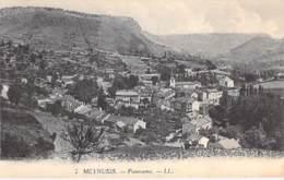 48 - MEYRUEIS : Panorama - CPA Village ( 1.920 Habitants ) - Lozère - Meyrueis