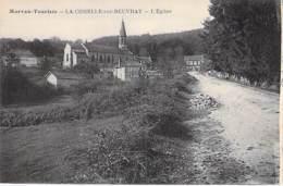 71 - LA COMELLE Sur BEUVRAY : Vue Générale Et L'Eglise - CPA Village ( Hameau De 225 Habitants ) - Saône Et Loire - France