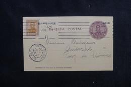 ARGENTINE - Entier Postal + Complément De Buenos Aires Pour La France En 1911 - L 52412 - Ganzsachen