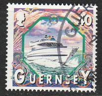 PIA - GUERNSEY : 1999 : Battelli : Fuoribordo  -  (YV  833) - Guernesey