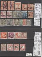 TIMBRES DE INDE NEERLANDAISE NEUF**/*/(*)/°/  1870-86-1900-32PA Nr VOIR SUR PAPIER AVEC TIMBRES  COTE 113.90   € - Indes Néerlandaises