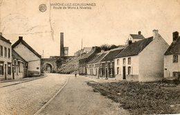 Marche-lez-Ecaussinnes. La Route De Mons à Nivelles - Ecaussinnes