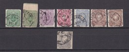 Deutsches Reich - 1875/79 - Michel Nr. 31/36 - Gest. - 78 Euro - Oblitérés
