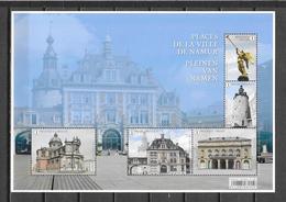 """België 2018 Velletje """" Pleinen Van Namen """" (**) - Unused Stamps"""