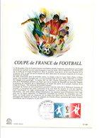 NOTICE FDC 1977 COUPE DE FRANCE DE FOOTBALL - FDC