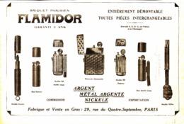 """PUB BRIQUETS    """" FLAMIDOR  """"    1915  ( 4 ) - Andere"""