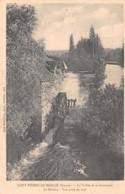 86-SAINT PIERRE DE MAILLE-N°T1086-D/0115 - Frankrijk