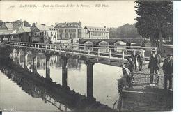 LANNION - Pont Du Chemin De Fer - Ligne De Perros - (1908) Animée - VENTE DIRECTE X - Lannion