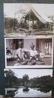 Singapour  Lot 3 Cpa Photos Singapore 1928 - Singapur