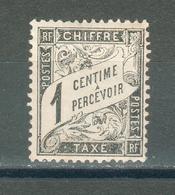 FRANCE ; Taxes ; Duval ; 1881-82 ; Y&T N° 10 ; Neuf Ttbe - 1859-1955 Neufs