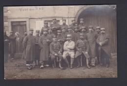 Carte Photo Guerre 14-18 Groupe Poilus Soldats Du 38 38è Regiment ( Infanterie ? )   (  Ref 40361) - Guerre 1914-18