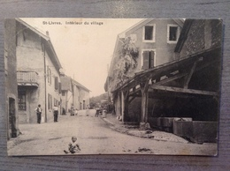 SAINT LIVRES Intérieur Du Village - VD Vaud