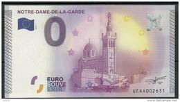 Billet Touristique 0 Euro 2015 Notre Dame De La Garde épuisé - EURO