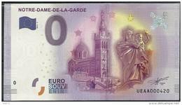 Billet Touristique 0 Euro 2016  Notre Dame De La Garde - EURO