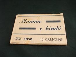 LOTTO 12 CARTOLINE SERIE 1050 MAMMA E BIMBI PICCOLO FORMATO GENNAIO 1943 - Women