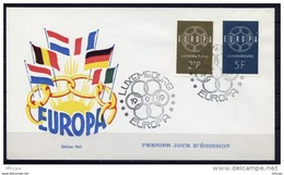 Lil3M41 EUROPA 1959 Luxembourg FDC - 1959