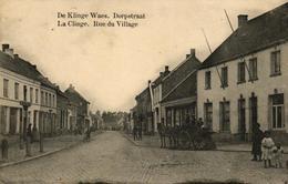 P274 DE KLINGE : Dorpstraat, Gelopen Kaart, Animatie - Belgique