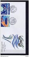 Lil3O52 PJ Inauguration Du Tennuel Sous La Manche Coquelles 03/04/1994 / YvT 2880 à 2883 - FDC