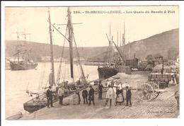 St-BRIEUC-LEGUE. Cpa.  - Les Quais Du Bassin à Flot.  (scans Recto-verso) - Saint-Brieuc
