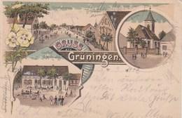 SUISSE GRUSS GRUNINGEN - ZH Zurich