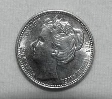 Silber/Silver Niederlande/Netherlands Wilhelmina Young Head, 1904, 25 Cents Vz-funz/XF-AU - [ 3] 1815-… : Regno Dei Paesi Bassi