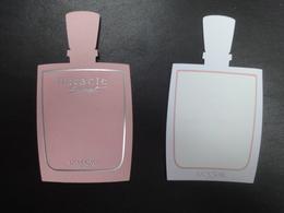 REPLIQUE A VAPORISER MIRACLE SECRET LANCOME ASIATIQUE - Cartes Parfumées