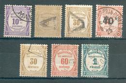 FRANCE ; Taxes  ; 1908-1931 ; Lot : 21 ; Oblitéré - 1859-1955 Oblitérés