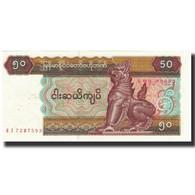 Billet, Myanmar, 50 Kyats, Undated (1997), KM:73a, NEUF - Myanmar