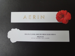 CARTE BLOTTER AERIN COREENNE - Cartes Parfumées