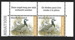 Belg. 2020 - La Bernache Nonnette ** (timbre Pour Recommandé) - België